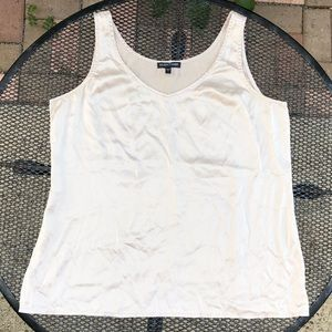 Silk Tank Champaign/ Taupe EILEEN FISHER S
